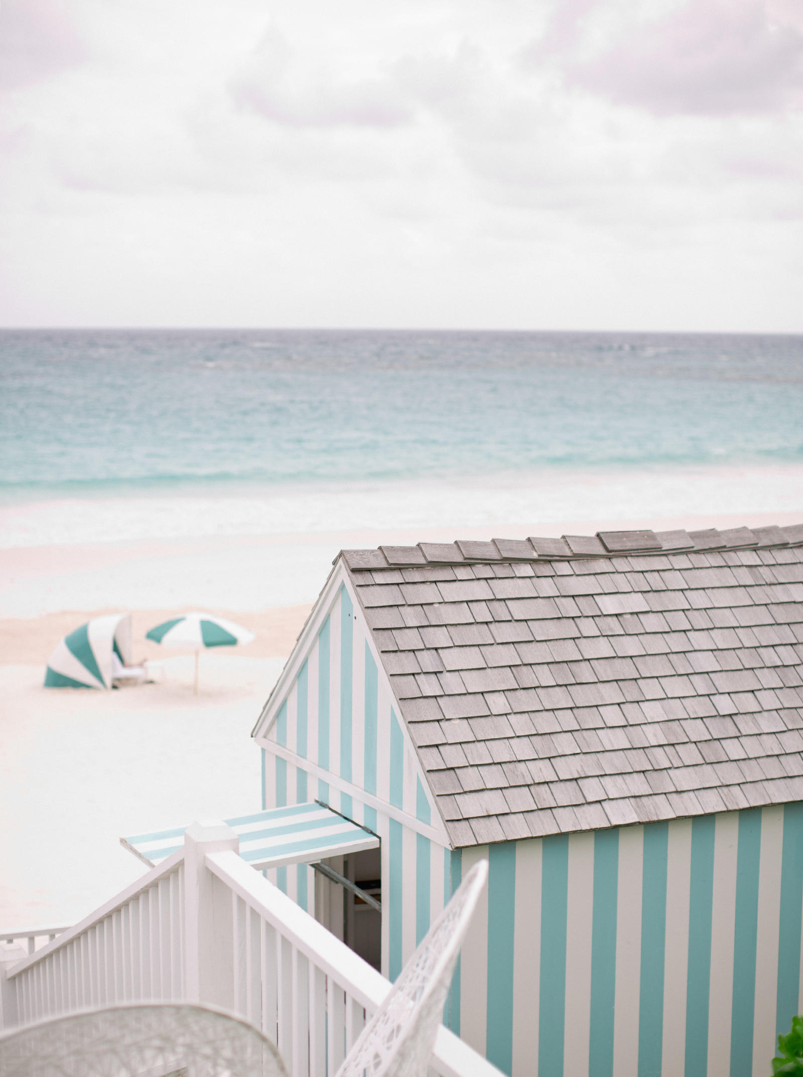 Lifestyle Photography, Atlanta | A view looking out at the beach.  A beach house stands in the foreground.