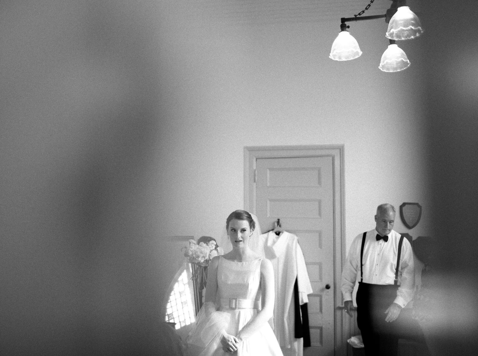 Wedding Photography | A bride prepares for her wedding ceremony.